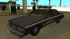 Chevrolet Caprice 1987 NYPD Auxiliar