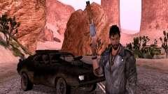 Max Rockatansky com jaqueta para GTA San Andreas