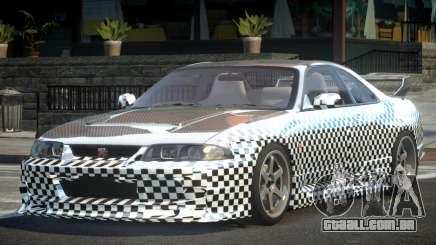 1997 Nissan Skyline R33 L10 para GTA 4