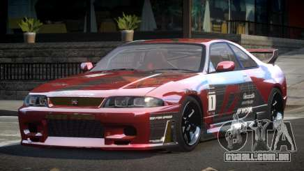 Nissan Skyline R33 BS L7 para GTA 4