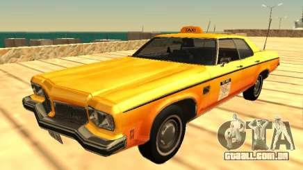 Oldsmobile Delta 88 1973 taxi para GTA San Andreas