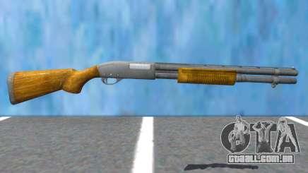 W-870 Wood Version Resident Evil 2 Remake para GTA San Andreas