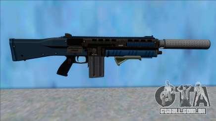 GTA V Vom Feuer Assault Shotgun LSPD V4 para GTA San Andreas