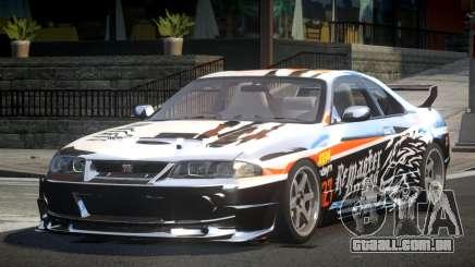 1997 Nissan Skyline R33 L9 para GTA 4