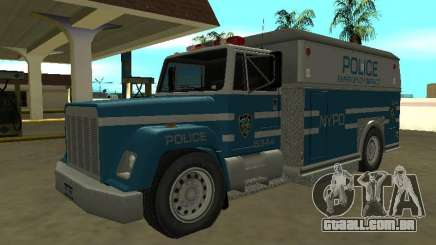 Enforcer HQ do GTA 3 New York Police Dept para GTA San Andreas