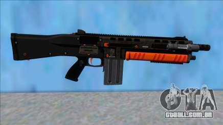 GTA V Vom Feuer Assault Shotgun Orange V12 para GTA San Andreas