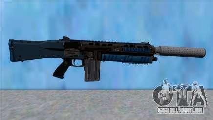 GTA V Vom Feuer Assault Shotgun LSPD V8 para GTA San Andreas