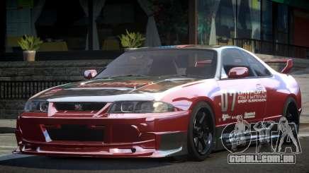 1997 Nissan Skyline R33 L1 para GTA 4