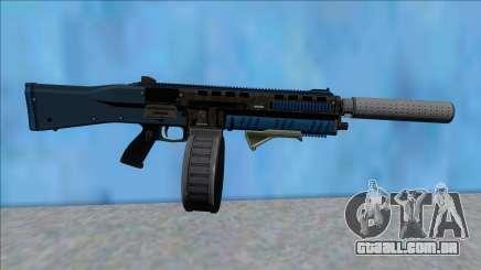 GTA V Vom Feuer Assault Shotgun LSPD V3 para GTA San Andreas