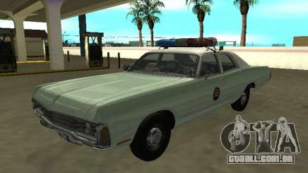 Dodge Polara 1972 US Border Patrol para GTA San Andreas
