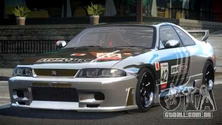 Nissan Skyline R33 BS L1 para GTA 4