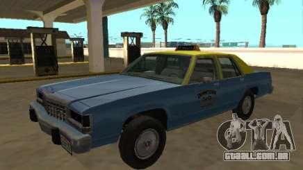 Ford LTD Crown Victoria taxi Downtown Cab Co para GTA San Andreas