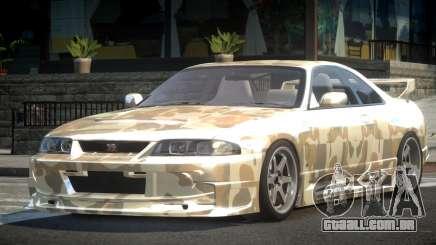 1997 Nissan Skyline R33 L4 para GTA 4