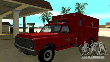 Chevrolet C-10 1972 Ambulance para GTA San Andreas