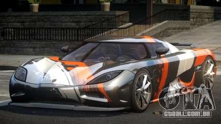 Koenigsegg Agera PSI L1 para GTA 4