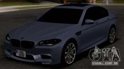 BMW M5 F10 30TH Anniversary Edition para GTA San Andreas