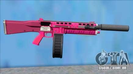 GTA V Vom Feuer Assault Shotgun Pink V1 para GTA San Andreas
