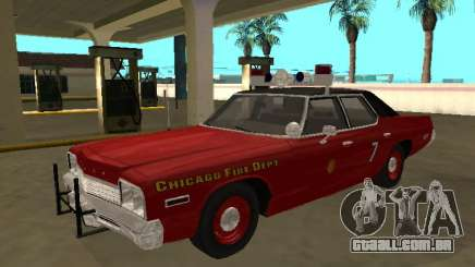 Dodge Monaco 1974 Chicago Fire Dept para GTA San Andreas