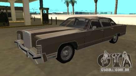 Lincoln Continental Town Car 1979 4 portas para GTA San Andreas