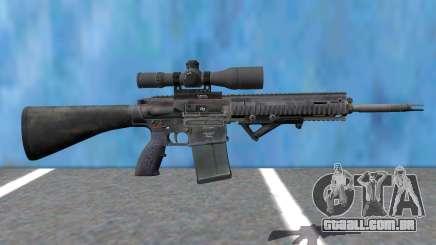 PAYDAY 2 Little-Friend 762 Sniper para GTA San Andreas