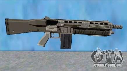GTA V Vom Feuer Assault Shotgun Platinum V15 para GTA San Andreas
