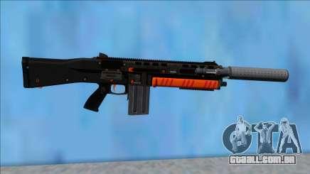 GTA V Vom Feuer Assault Shotgun Orange V2 para GTA San Andreas