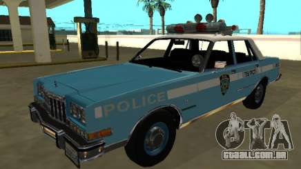 Dodge Diplomat 1987 New York Police Dept para GTA San Andreas
