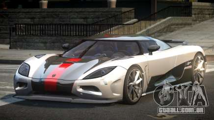 Koenigsegg Agera PSI L4 para GTA 4