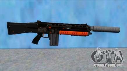 GTA V Vom Feuer Assault Shotgun Orange V8 para GTA San Andreas