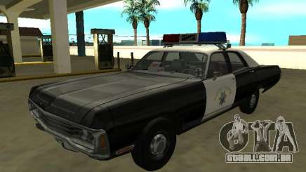 Dodge Polara 1972 California Highway Patrol para GTA San Andreas