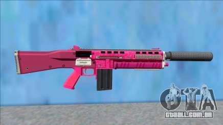 GTA V Vom Feuer Assault Shotgun Pink V8 para GTA San Andreas