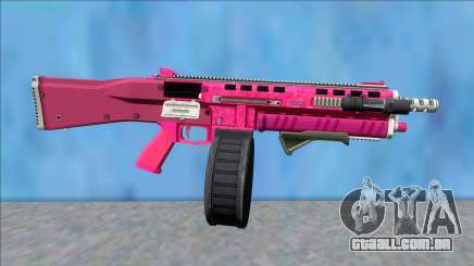 GTA V Vom Feuer Assault Shotgun Pink V5 para GTA San Andreas