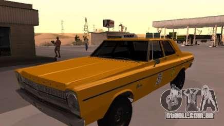 Plymouth Belvedere 4 doors 1965 Taxi para GTA San Andreas