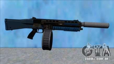GTA V Vom Feuer Assault Shotgun LSPD V7 para GTA San Andreas