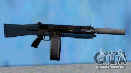 GTA V Vom Feuer Assault Shotgun LSPD V1 para GTA San Andreas
