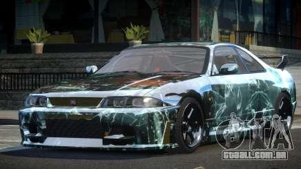 Nissan Skyline R33 BS L6 para GTA 4