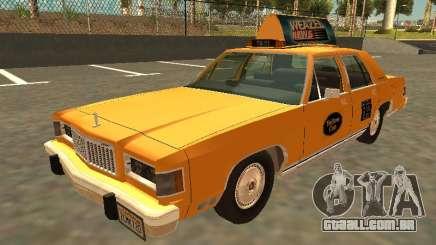 Mercury Grand Marquis 1986 Taxi para GTA San Andreas