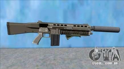 GTA V Vom Feuer Assault Shotgun Platinum V4 para GTA San Andreas