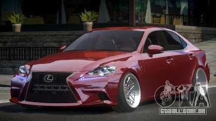Lexus IS 350 SP-Drift para GTA 4