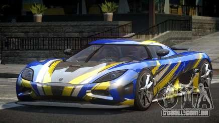 Koenigsegg Agera PSI L7 para GTA 4