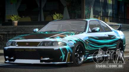 Nissan Skyline R33 BS L8 para GTA 4
