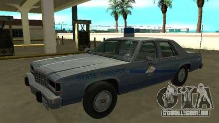 Ford LTD Crown Victoria 1987 Kentucky State Poli para GTA San Andreas