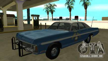 Dodge Polara 1972 Nevada Highway Road Patrol para GTA San Andreas