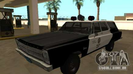 Plymouth Belvedere 1965 Station Wagon LAPD para GTA San Andreas