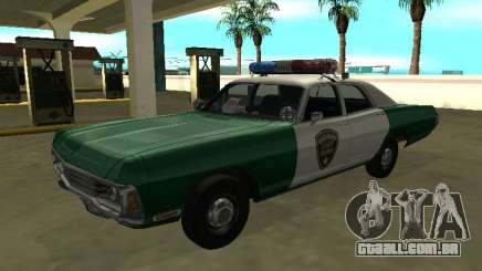 Dodge Polara Chickasaw County Sheriff para GTA San Andreas