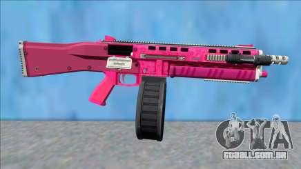 GTA V Vom Feuer Assault Shotgun Pink V11 para GTA San Andreas