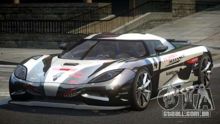 Koenigsegg Agera PSI L3 para GTA 4