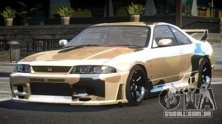 Nissan Skyline R33 BS L2 para GTA 4