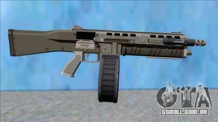 GTA V Vom Feuer Assault Shotgun Platinum V11 para GTA San Andreas