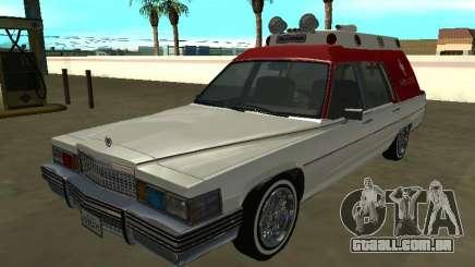 Cadillac Superior 1977 (Emperor) Ambulance para GTA San Andreas